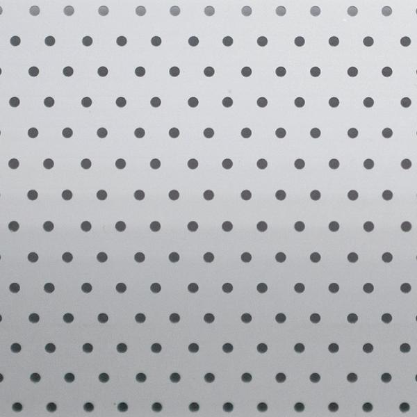 White Filtra Perforated Aluminium Venetian