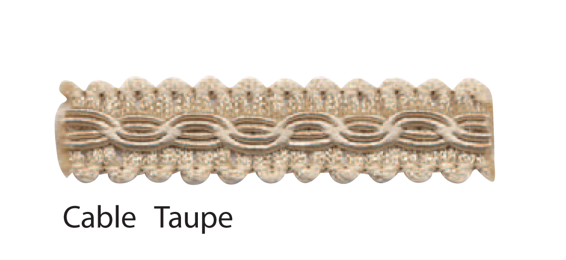 Cable Taupe braid