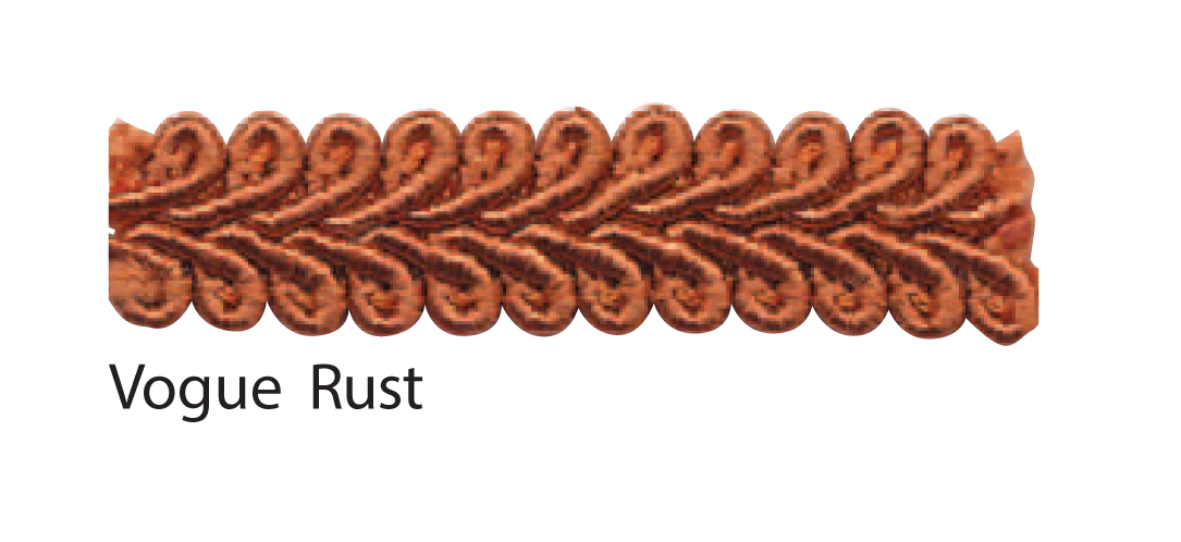 Vogue Rust braid