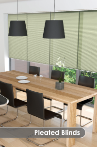 Buy made to measure pleated blinds online