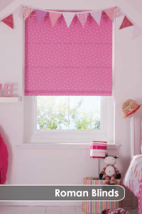 made to measure roman blinds by UK Blind Masters
